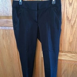 LOFT Julie Black Skinny Pants